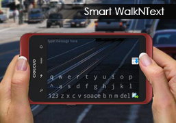 Smart Walk and Text