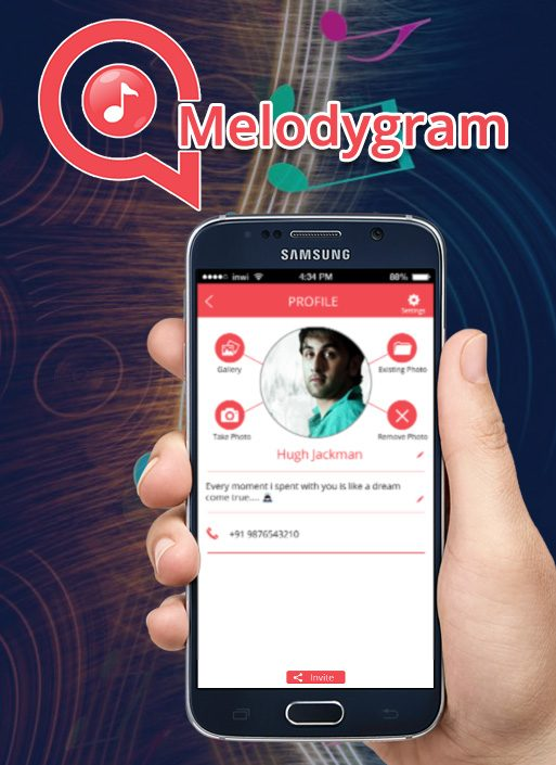 MelodyGram Messenger